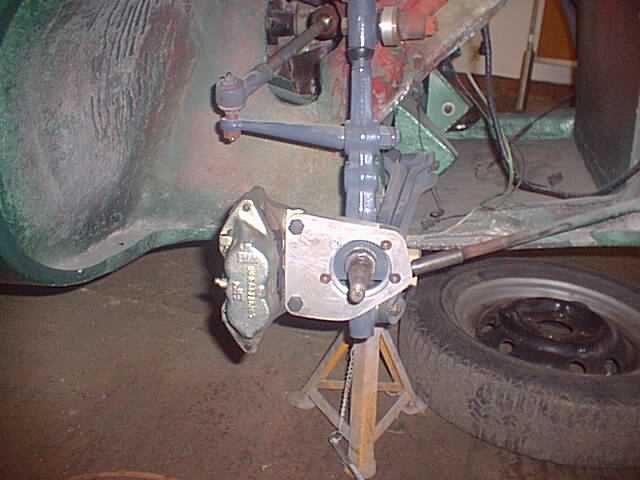 scholar racing disc brake conversion, rochdale